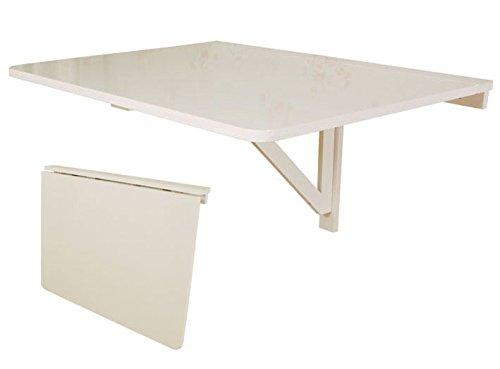 SoBuy® Mesa plegable de pared, mesa plegable, mesa de madera ...