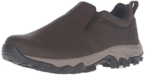 Columbia Men's Newton Ridge Plus Moc Waterproof Uniform Dress Shoe, Cordovan, Squash, 9 D (Moc Waterproof Shoes)