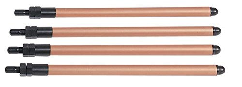 Chromoly Pushrod Set - Andrews EZ-Install Pushrods Chromoly for Harley Big Twin 84-99