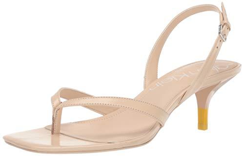 - Calvin Klein Women's Monty Heeled Sandal Light Sand 7 M M US