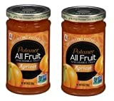Polaner All Fruit Apricot Spreadable Fruit 10 oz. Jar (Pack of 2) Gluten-free