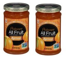 Polaner All Fruit Apricot Spreadable Fruit 10 oz. Jar (Pack of 2) ()