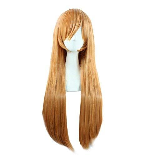 【18%OFF】 DAZCOS Shokugeki no (Blonde) Soma Nakiri Erina Anime 80cm Nakiri Long B07N4M7JPZ Straight Cosplay Wig (Blonde) [並行輸入品] B07N4M7JPZ, ブリヂストン快眠ショップ:df2b9db9 --- a0267596.xsph.ru