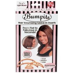 - Bumpits Hair Volumizing Leave-In Inserts, Blonde 3 ea