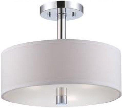 (Designers Fountain 84511-CH Cordova Semi-Flush)