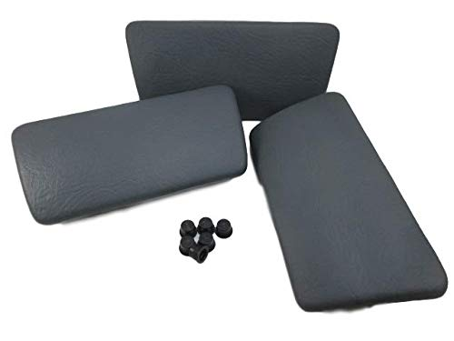 (Spa Hot Tub Pillows (3) Streamline Four Winds Gray Infinity Raindance Trapezoid)