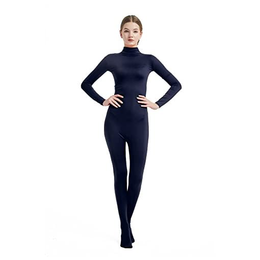 Full Bodysuit Womens Costume Without Hood And Gloves Lycra Spandex Zentai Unitard