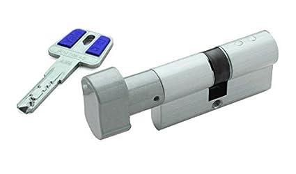 Yale, HSKP3030HN, Cilindro Botón de Alta Seguridad HSK de 30 x 30 mm,