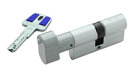 Yale, HSK3040HN, Cilindro de Alta Seguridad HSK de 30 x 40 mm, Niquelado: Amazon.es: Bricolaje y herramientas