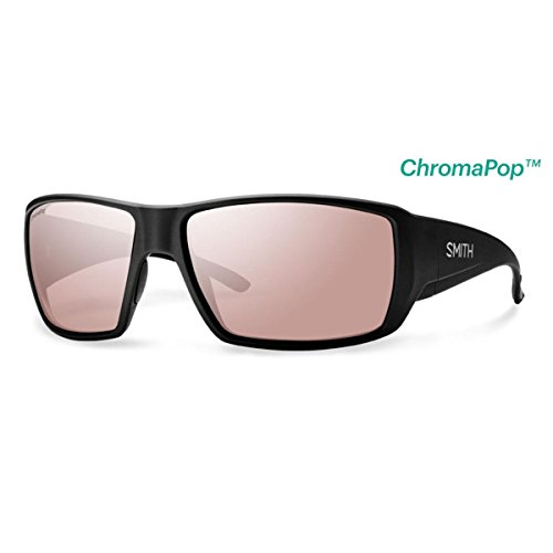 Smith Guides Choice ChromaPop+ Polarized Sunglasses, Matte Black, Polarchromic Ignitor - Sunglasses Guide