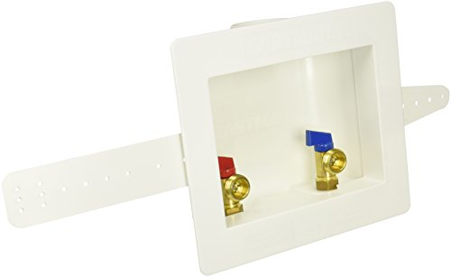 Center Drain Washing Machine Outlet Box, 1/2-Inch ()
