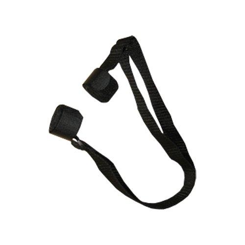 Yoga Mat Velcro Carry Strap, Black