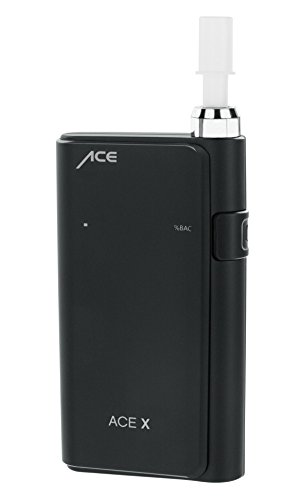 ACE X Portable Breathalyzer Professional Grade Fuel Cell with Digital Display and 5 Mouthpieces by ACE Instruments (Image #1)