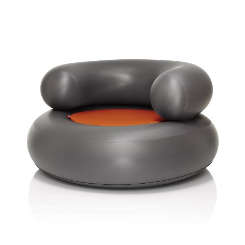 ch air anthracite inflatable seat