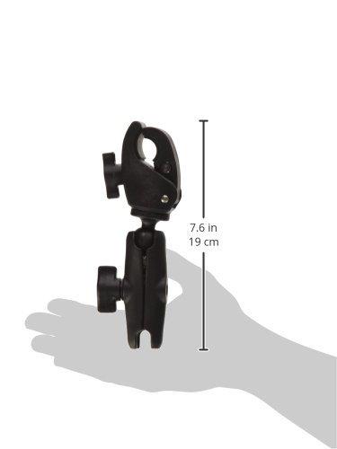 RAM MOUNTS (RAP-B-400-201U 1'' Diameter Ball Standard Length Double Socket Arm with Small Tough-Claw Base by RAM MOUNTS