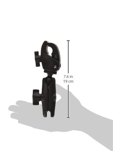 RAM MOUNTS (RAP-B-400-201U 1'' Diameter Ball Standard Length Double Socket Arm with Small Tough-Claw Base