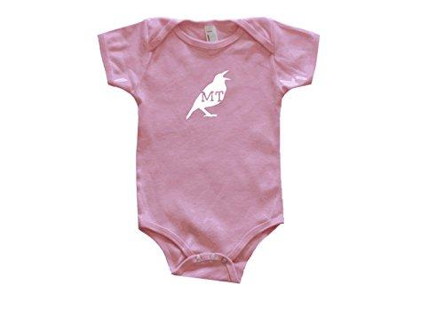 Montana State Your Bird Baby Bodysuit 18-24 Months Pink Montana State Bird
