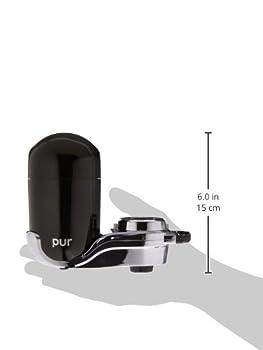 """Pur Blackchrome """"Advanced"""" Vertical Faucet Mount 2"""
