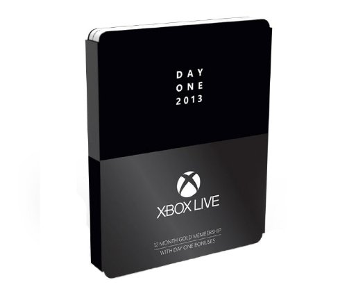 Xbox Live Gold Day One: 12 Month Subscription - Xbox One 12 Months - Day One Edition