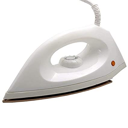 da7b7441016 Buy Hi-Choice 750 watt Dry Iron Non Stick Soleplate and Auto Switch Off  Function (White) Online at Low Prices in India - Amazon.in