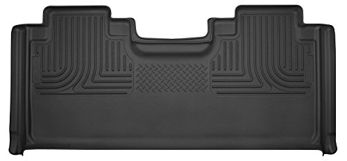 Husky Liners 2nd Seat Floor Liner Fits 15-17 F150(2017 F250/350) SuperCab