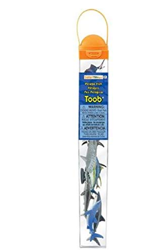 - Safari Ltd. TOOB - Pelagic Fish - Quality Construction from Phthalate, Lead and BPA Free Materials - for Ages 3 and Up