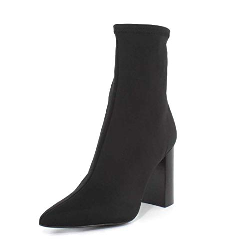 - Jeffrey Campbell Womens Siren Black Neoprene Boot - 7.5