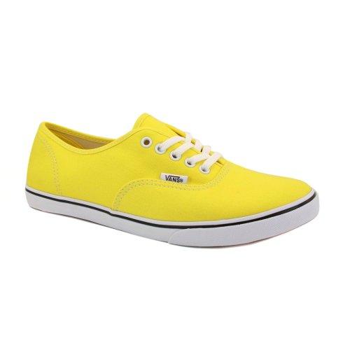 zapatillas vans amarillas mujer