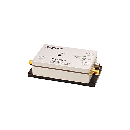 NF Corp. Wideband Current Amplifier SA-604F2, Gain 10MV/A, DC to 500kHz