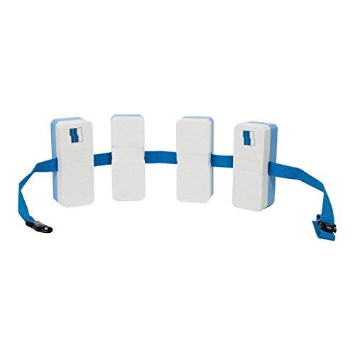 Schwimmgürtel Junior Schwimmhilfe Schwimmgurt für Kinder Schwimmflügel BLAU/WEIß