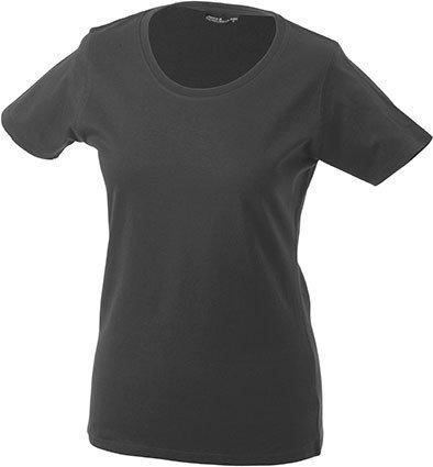 Donna 4 Nicholson 3 Opaco amp; a a James T shirt U Collo Maniche graphite 7gwvqU