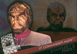 (Quotable Star Trek Deep Space Nine Starfleets Finest F4 Chase Card #176)
