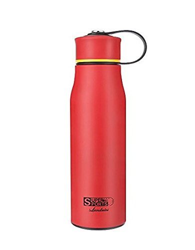 Landnics Water Bottle, Stainless Steel Bottle 520ml(18.3oz),12 Hrs Hot, 24 Hrs Cold Double Wall Thermos,BPA Free Drinking Bottle for Camping, Hiking, Office by Landnics