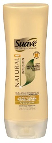 Suave Conditioner Natural Infusion Moisturizing 12.6 Ounce (372ml) (2 Pack)