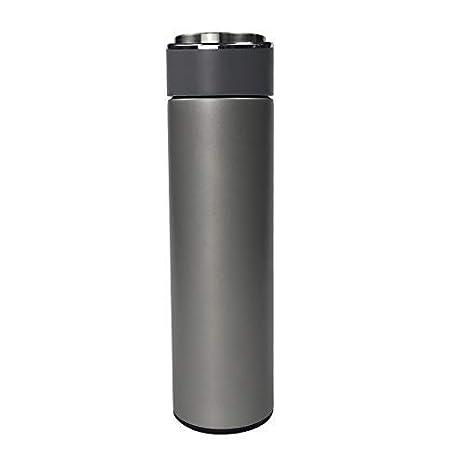 Amazon.com: Octto 17oz/0.49L Matte Termo Botella de agua de ...