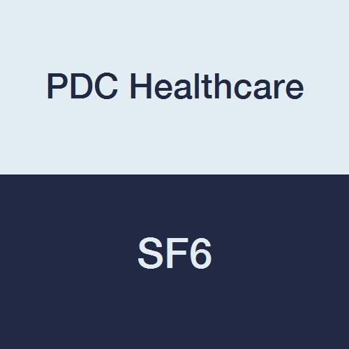 PDC Healthcare SF6 Stat Flag, Blank, Poly, 1-5/8'' x 5'', Light Blue