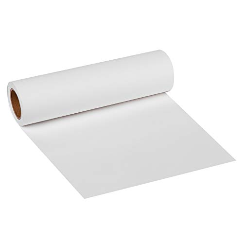 RUSPEPA White Kraft Paper Roll - 12 inch x 100 Feet - Recycled Paper Perfect for for Crafts, Art,Small Gift Wrapping, Packing, Postal, Shipping, Dunnage & ()