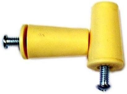 06-020-002 - Tope plastico persiana 40mm. blanco
