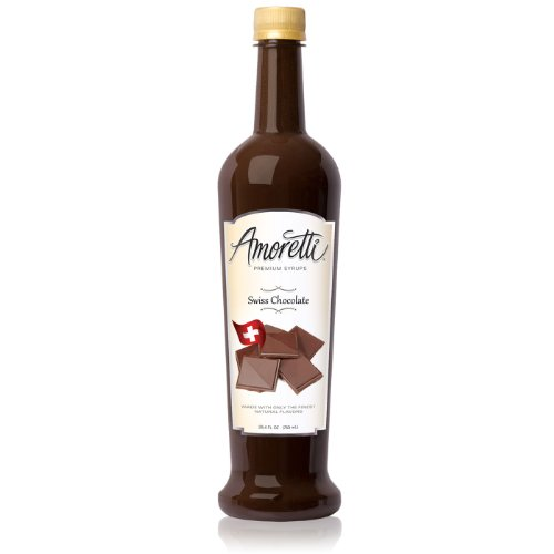 Amoretti Premium Syrup, Swiss Chocolate, 25.4 Ounce