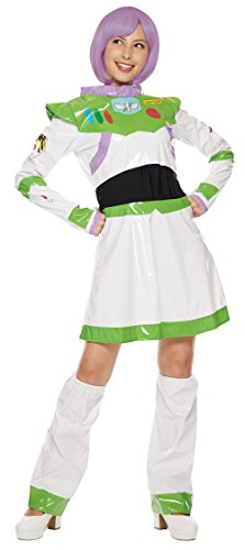 Disney's Buzz Lightyear Costume - Toy Story Dress - Teen/Women's STD Size -