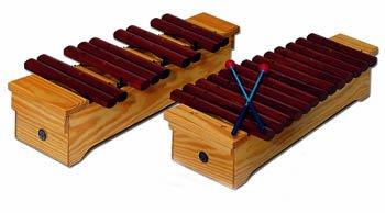Xilófono soprano, Palo rojo, Do2/La3, cromático