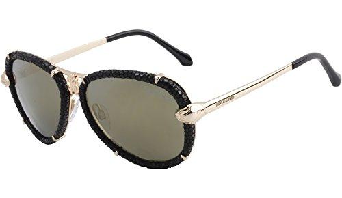 Amazon.com: Roberto Cavalli rc885s mebsuta anteojos de sol ...