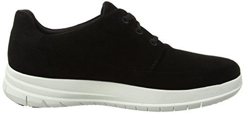 Sneaker Sportivo Pop Fitflop Uomo Nero Scamosciato (nero)
