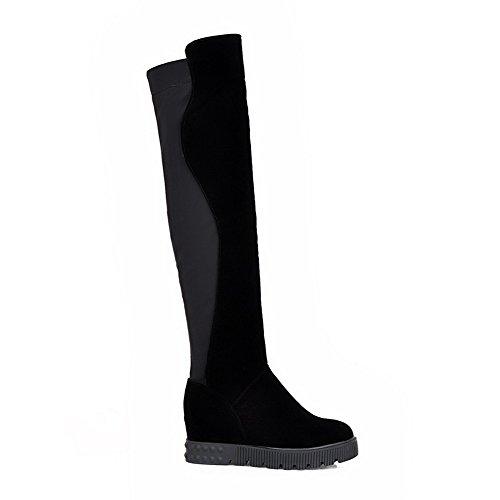 Sandales EU Noir 1To9 Inconnu MNS02189 Compensées Femme 38 5 5CwBnnSxqz
