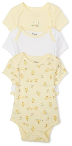 Little Chicks 3 Piece Easter Onesie Set