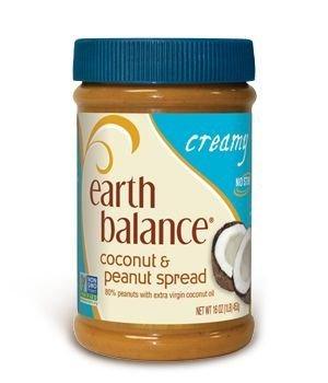 Earth Balance Creamy Coconut & Peanut Spread (3x16oz) by Earth Balance (Earth Balance Baby Food)