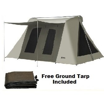 Super Deluxe Kodiak Canvas Tent 6041VX 10x14 with tarp 6043