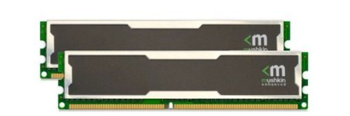Mushkin Silverline 996754 2GB (2x1GB) DDR-400MHz PC3200 Desktop RAM