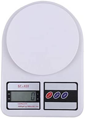 JIEIIFAFH Kitchen Digital Scale Without Backlight Small Household Baking Gram Scale Food Measuring Tool (Size : 5kg)
