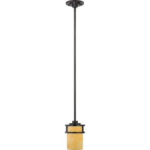 - Quoizel KY1508IB Kyle Rustic Mini Pendant Lighting, 1-Light, 100 Watts, Imperial Bronze (7